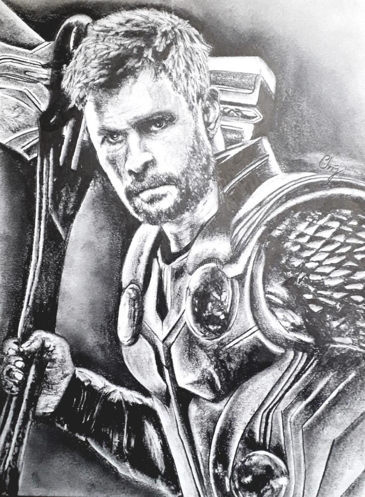 Chris Hemsworth by chrispicture